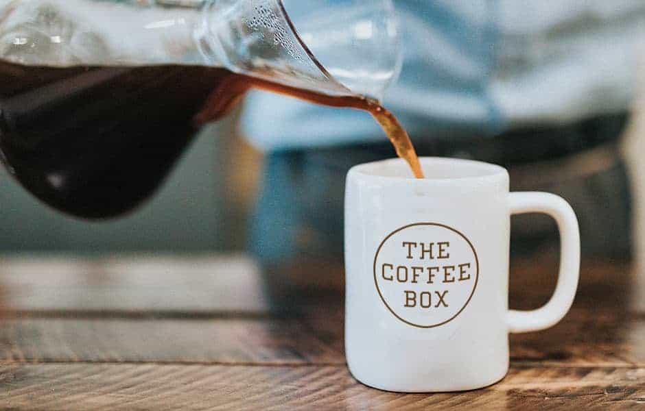 The Coffee Box mug